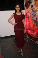 Pragya Jaiswal in Stunnign Deep neck Designer Maroon Dress at Nakshatram music launch ~ CelebesNext Celebrities Galleries 009.JPG