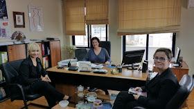Επίσκεψη εκπροσώπων της Περιφέρειας Πιερίας στη ΓΓΙΦ