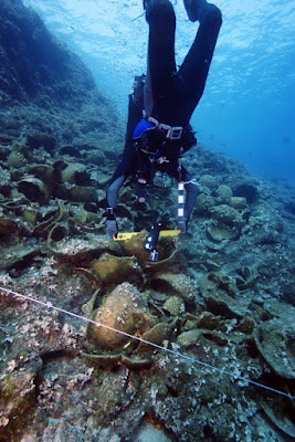 22 ancient shipwrecks located near Greek island