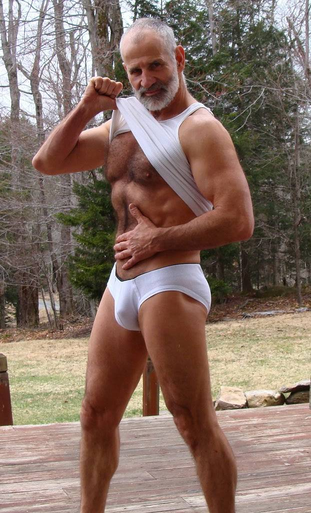 Hairy Muscle Daddy Paul Adams-7365