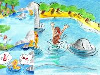 10- La sirène qui voulait devenir une petite fille