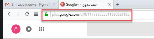 رابط جوجل بلوس