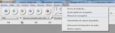Imagen Audacity, Imagen Editor de audio, Foto Software libre, Foto aplicación multiplataforma, Imagen grabar audio, Imagen mezclar pistas, Foto efectos de audio, Foto Manual Offline