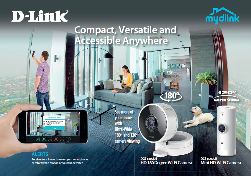 D-Link DCS-8000LH and DCS-8100LH