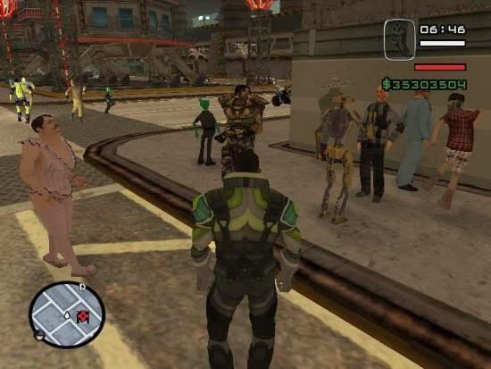 Grand Theft Auto San Andreas Alien City MOD Free Download