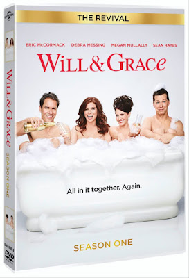 Check out the newly-released DVD collection Will & Grace - The Revival (Season One) complete with all 16 episodes, a behind the scenes video and 7 minute blooper reel