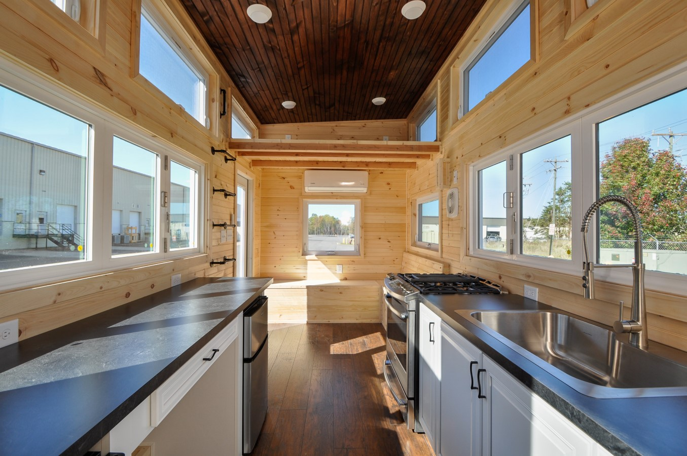 Tiny House Town Hillside By Tiny House Building Company