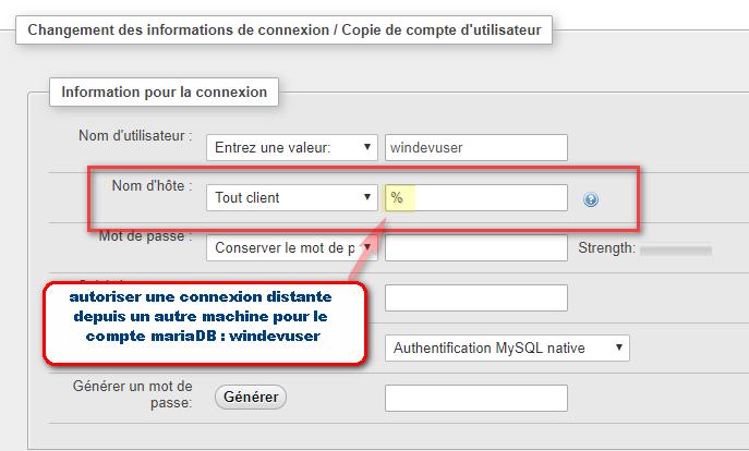 ACCES WEBDEV TÉLÉCHARGER NATIF 17 MYSQL