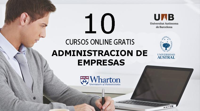 10 Cursos Online Gratis De Administracion De Empresas