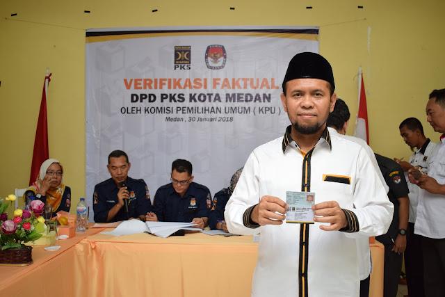 Menuju Pemilu 2019, PKS Kota Medan Sukses Verifikasi Faktual