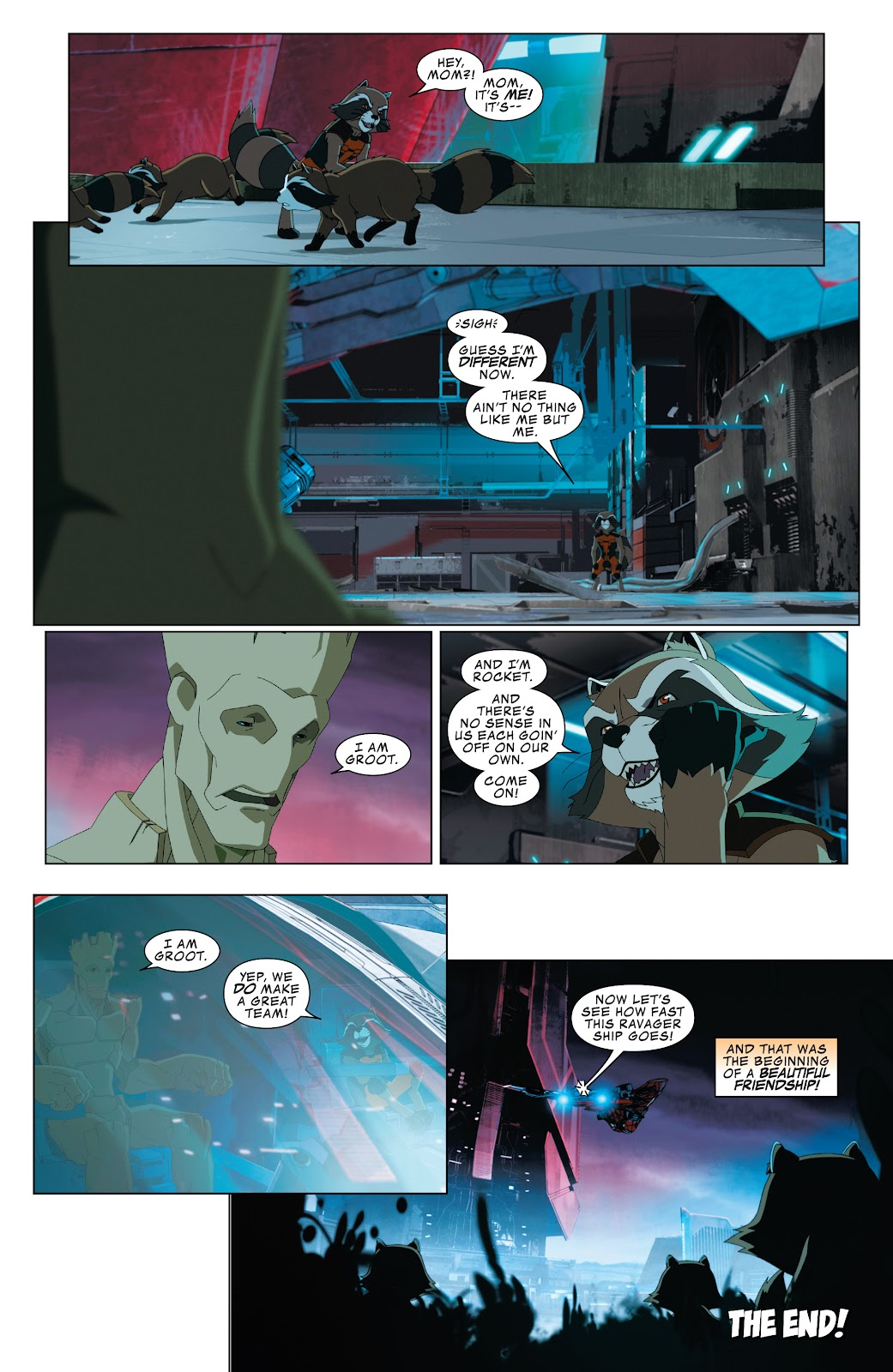 Read online Marvel Universe Guardians of the Galaxy [I] comic -  Issue #4 - 22