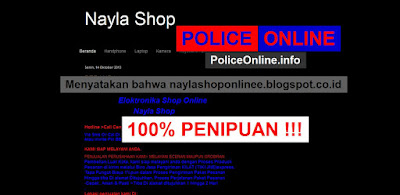 naylashoponlinee.blogspot.co.id 100% Toko Online PENIPU