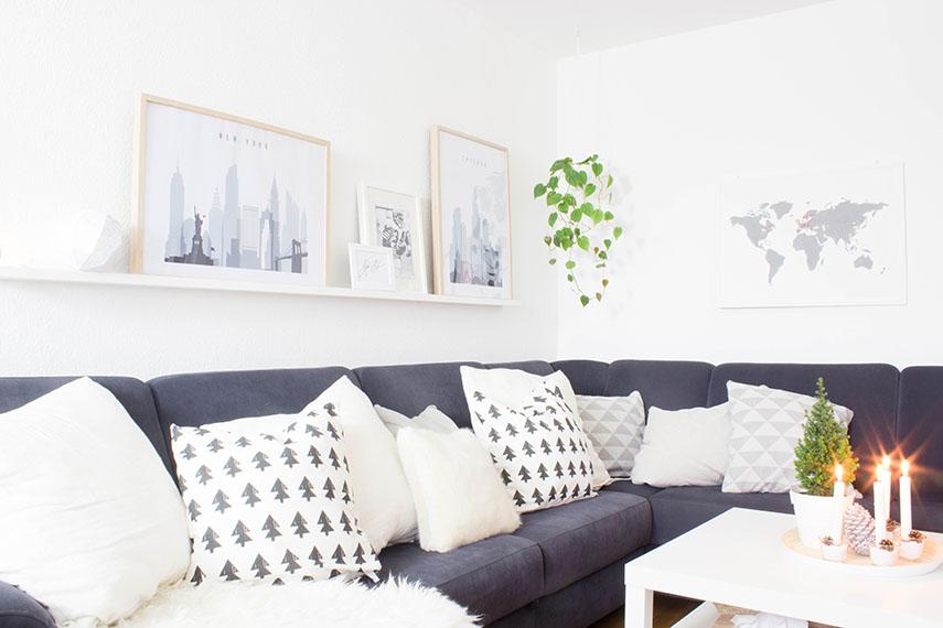 2 weihnachtliche diy kissen ars textura diy blog. Black Bedroom Furniture Sets. Home Design Ideas