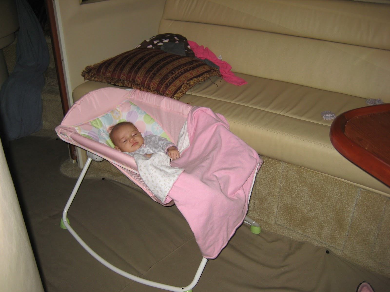Baby Boat Bed