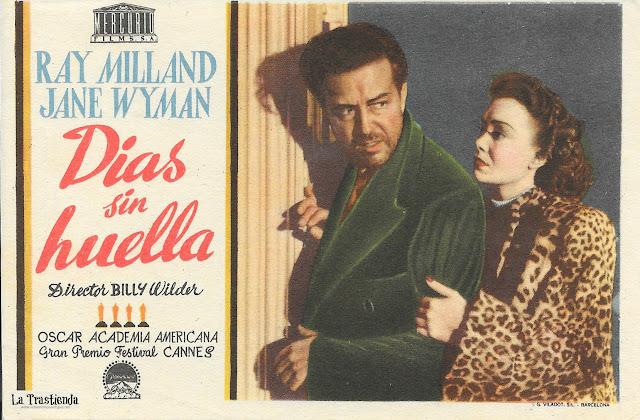 Días sin Huella - Programa de Cine - Ray Milland - Jane Wyman