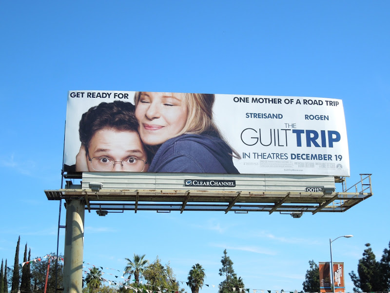 Guilt Trip movie billboard