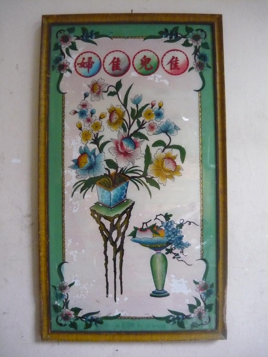 antikpravedablogspotcom Lukisan kaca kuno gambar