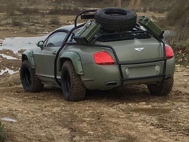 Bentley Continental GT Off-Road Ready