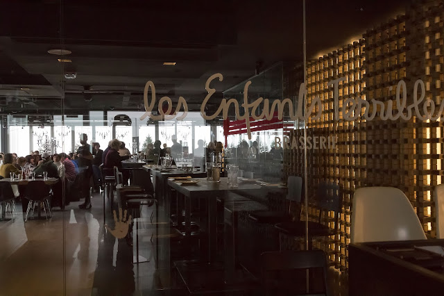 Les Enfants Terribles Restaurant at Observatorie 360º in Montréal, Canada