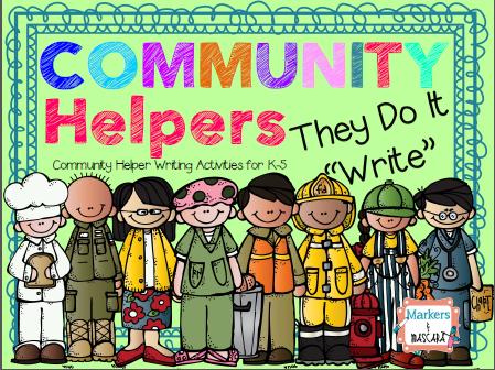 http://www.teacherspayteachers.com/Product/Community-Helpers-Do-It-Write-Writing-Pack-1413578