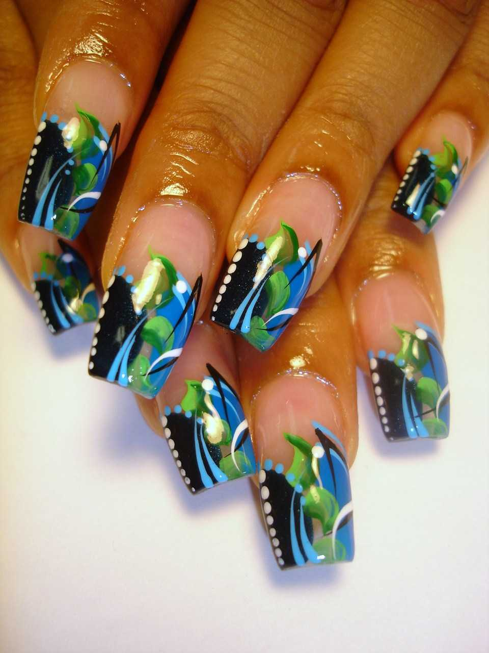 Acrylic Nails Amp I Love Doing Them Different Style