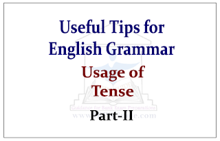 Useful Tips for English Grammar