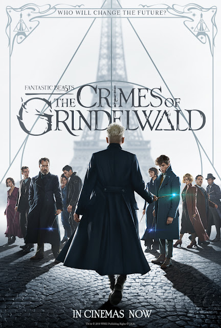 Fantastic Beasts: The Crimes of Grindelwald 2018 movie poster Jude Law Johnny Depp Eddie Redmayne