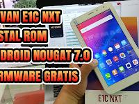 Cara Flashing Advan Vandroid Tab E1C NXT S7D Android Nougat 7.0 (Error sistem, Bootloop, Matot)