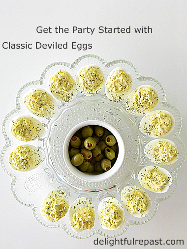Classic Deviled Eggs - a must for every barbecue, picnic or potluck - organic, of course / www.delightfulrepast.com