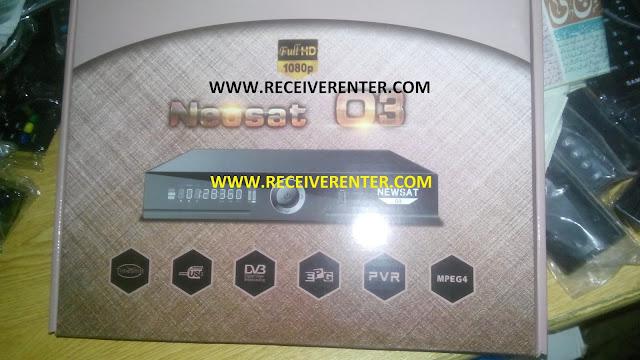 NEOSAT O3 CCCAM OPTION AND POWERVU TANDBERG SOFTWARE