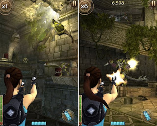 Game android offline : Lara Croft Relic Run