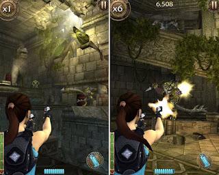 Game android offline : Lara Croft Relic Run
