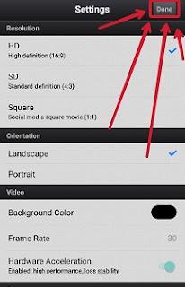 Cara Menyimpan Video Dari Cute Cut ke Galeri Hp Android