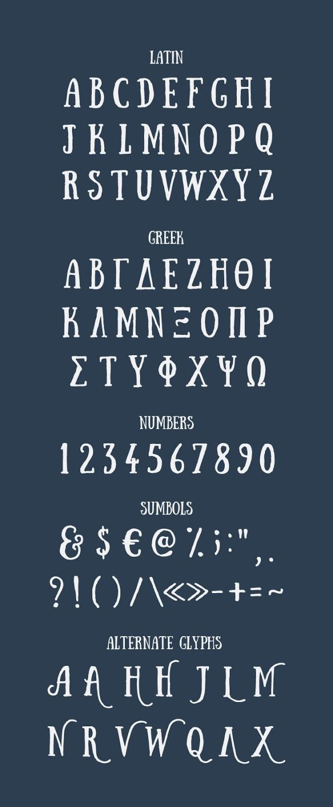 Δωρεάν Γραμματοσειρά Sunday από την Αναστασία Δημητριάδη