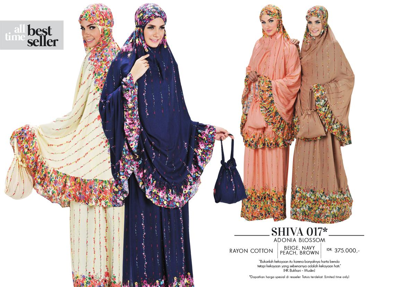 Jual Busana Muslim Cantik Baju Murah Mukena Terbaru Tatuis Tiara 235 Peach Shiva 017