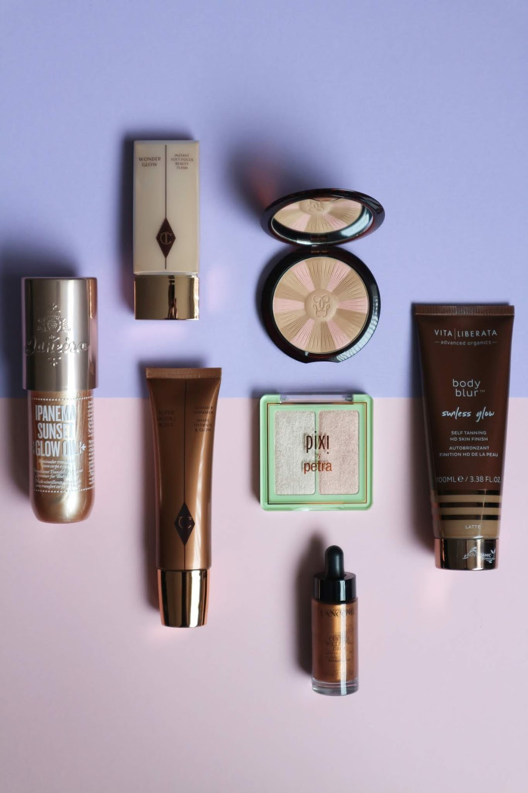 Summer Glow Makeup Products