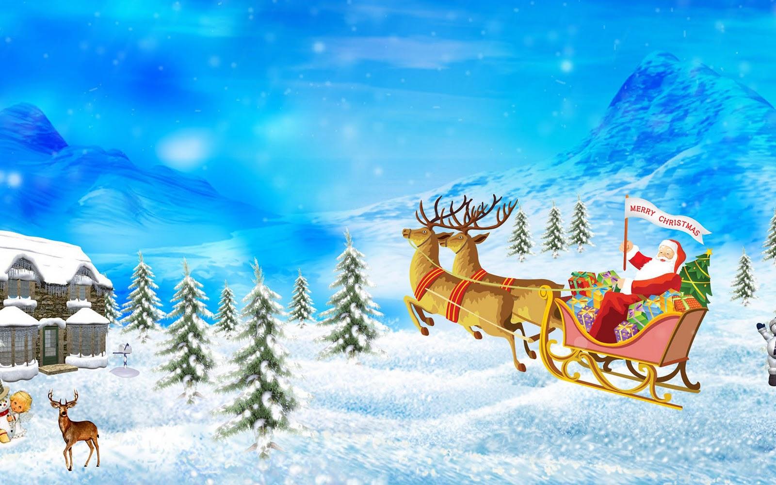 Welp Kerstman Wallpapers - HD Wallpapers KQ-25
