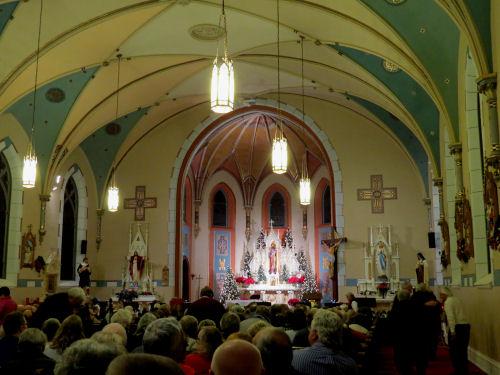 St. Joseph's Church, Hart Michigan