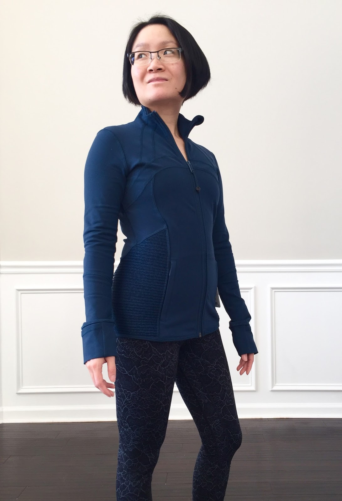 f572342b9ca22 Petite Impact: Fit Review! Lululemon Define Jacket in Rulu & Pleat It