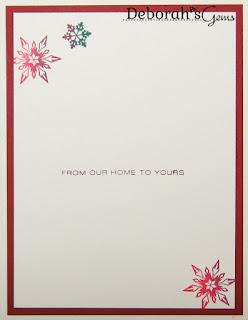 Joyous Christmas Wish inside - photo by Deborah Frings - Deborah's Gems