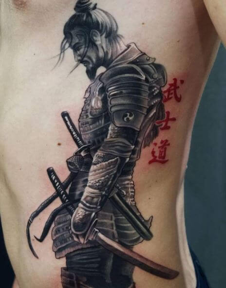 de7df9704 100+ Japanese Samurai Tattoo Designs With Meaning (2018 ...