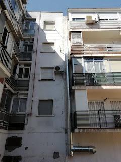 foto montaje tubo EI30 por fachada patio