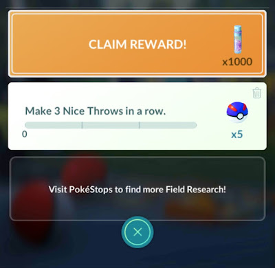 field research claim reward