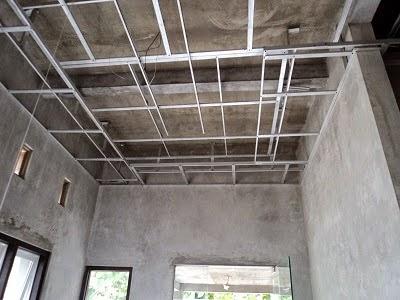 pasang plafon baja ringan 085370366883 harga gypsum per meter persegi