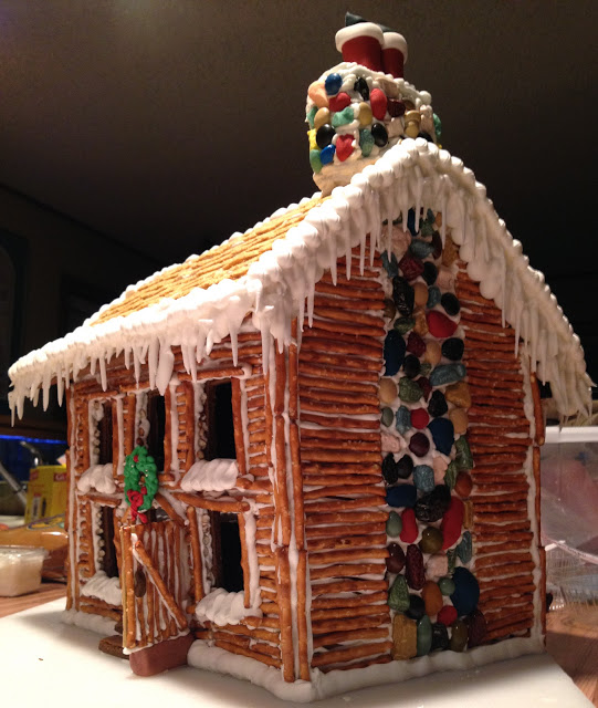 Winged Snail: Inspiration: Gingerbread House