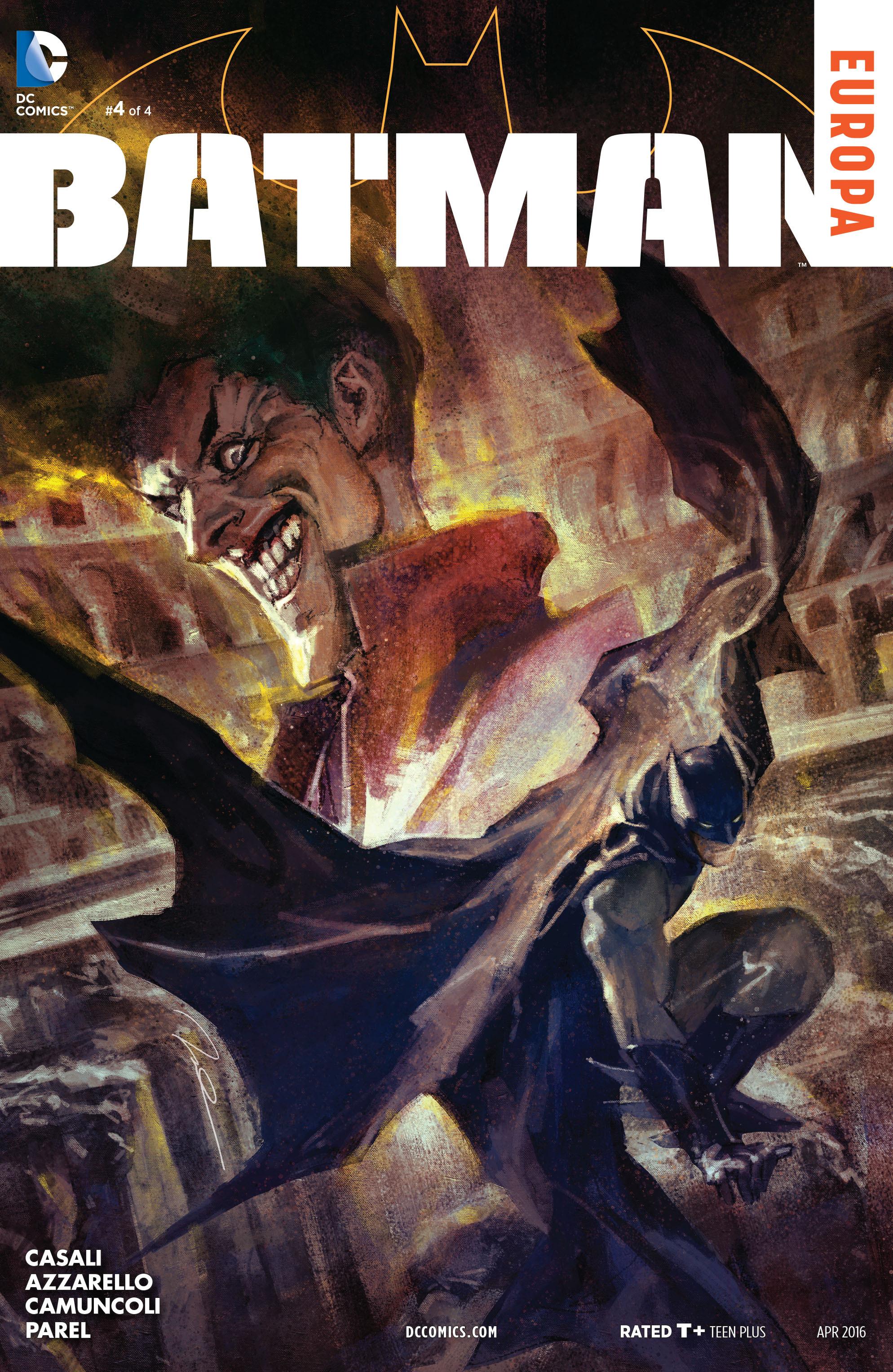 Batman: Europa issue 4 - Page 1