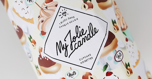 "Revue | My Jolie Candle ""Cupcake Noisettes"" ♥"