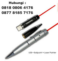 Flashdisk Pen Laser Persentase