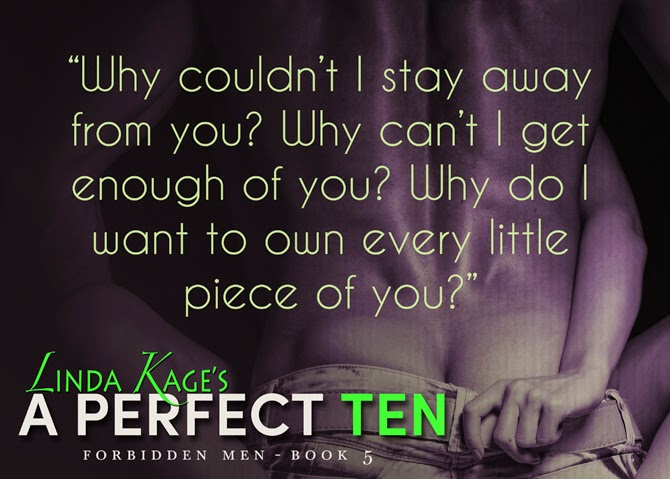 Romance teaser from A Perfect Ten Book