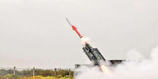 QRSAM Missile Successfully Test Fired